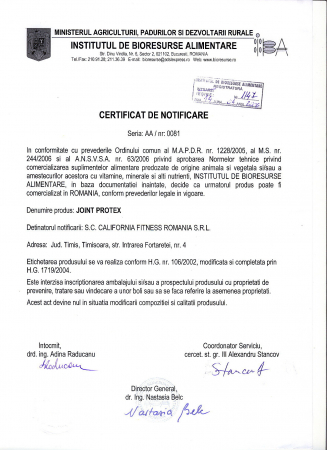 Joint Protex CaliVita (90 tablete) Complex pentru protecţia articulaţiilor [2]