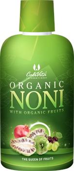 Organic Noni CaliVita (946 ml) suc de noni organic cu struguri albi, cireşe negre şi rodii organice [0]