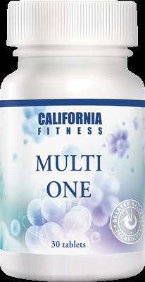 Multi One CaliVita (30 tablete) Complex de vitamine și minerale [0]