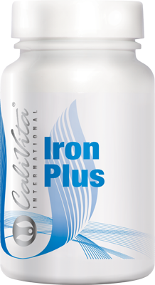 Iron Plus CaliVita (100 tablete) Fier cu Vitamina C [0]
