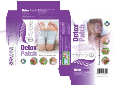 Detox Patch CaliVita (12 pliculeţe cu pulbere din extracte de plante) plasturi detoxifianţi [2]
