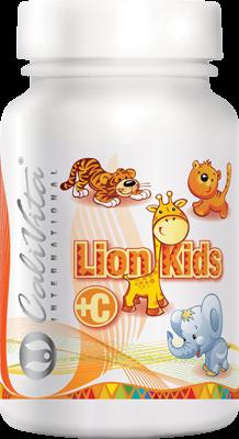 Lion Kids C CaliVita (90 tablete masticabile) Vitamina C pentru copii [0]