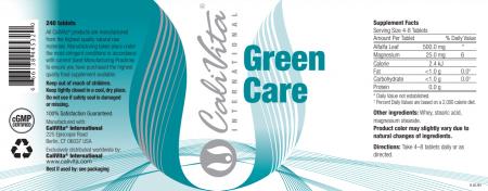 Green Care CaliVita (240 tablete) Produs Pentru Alcalizare [1]