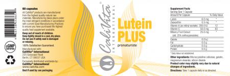Lutein Plus CaliVita (60 Caps) Complex pentru protecţia ochilor [1]