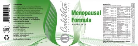 Menopausal Formula CaliVita (135 capsule) pentru femeile aflate la menopauză [1]