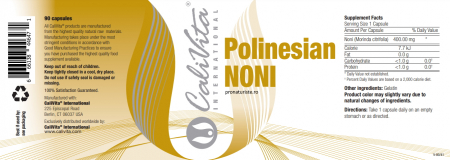 Polinesian Noni Caps (90 capsule) Preparat pe bază de fructe Noni [1]