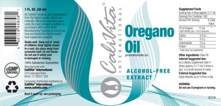 Oregano Oil (30 ml) Ulei de oregano cu efect antibacterian, antifungic si antiviral. [1]