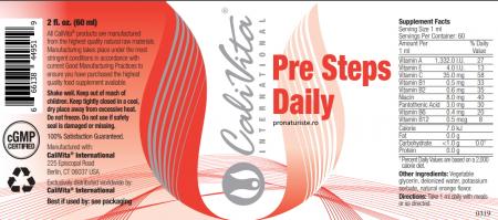 Pre Steps Daily (60 ml) Vitamine Lichide pentru bebelusi si sugari [1]