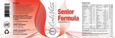 Senior Formula (90 tablete) Multivitamine pentru vârstnici [1]