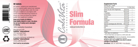 Slim Formula (90 tablete) Produs naturist pentru slăbit [1]