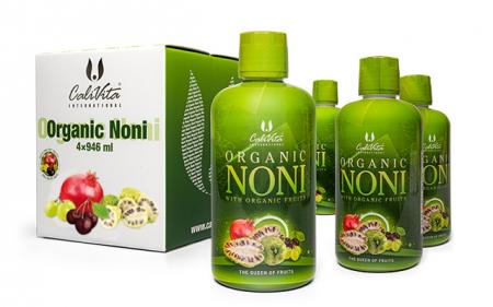 Pachet Organic Noni 3+1 (4 x 946 ml) 4 flacoane de suc de noni certificat organic [0]