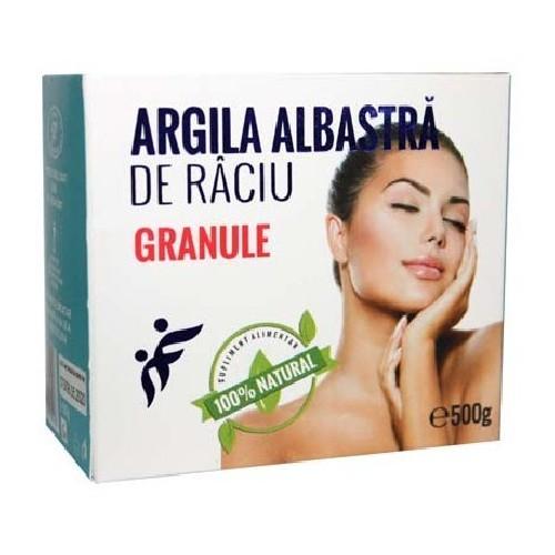 Argila Albastra de Raciu Granule 500g Romcos [0]