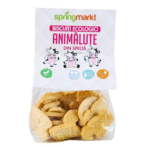 Biscuiti Bio din Spelta Animalute, 100gr , springmarkt [0]