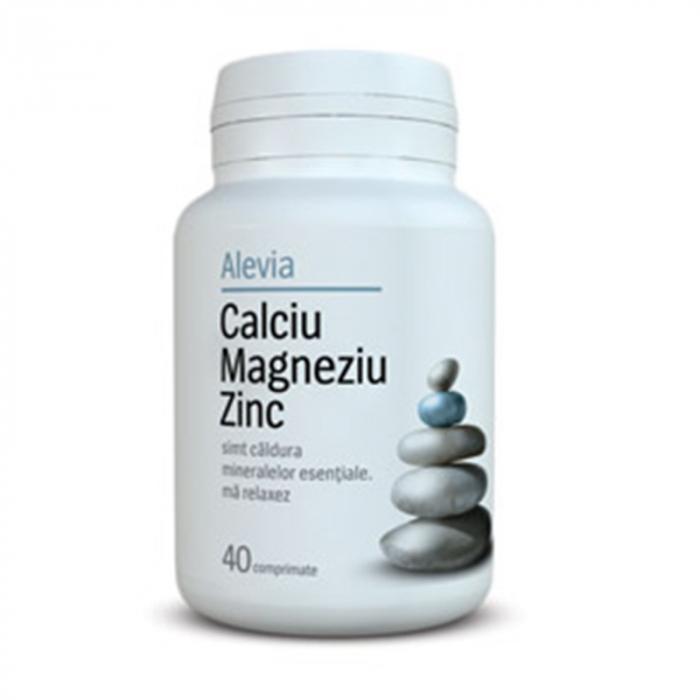 Calciu Magneziu Zinc 40cpr Alevia [0]