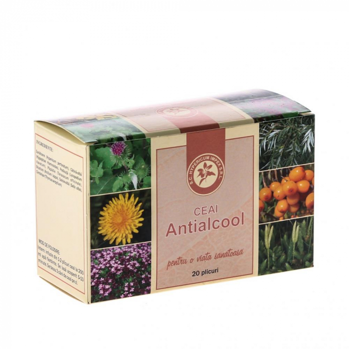 Ceai Antialcool 20dz Hypericum [0]
