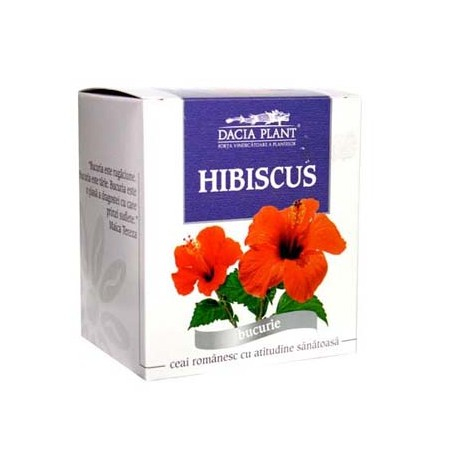 Ceai Hibiscus 50g Dacia Plant [0]