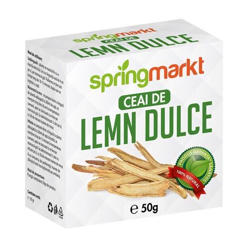 Ceai Lemn Dulce Radacina 50gr springmarkt [0]