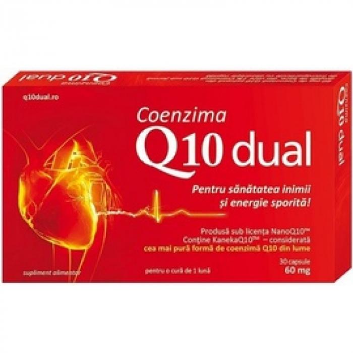 Coenzima Q10 Dual 60mg 30cps Good Days Therapy [0]