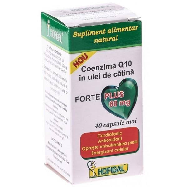 Coenzima Q10 Ulei Catina Forte + 60mg 40cpr Hofigal [0]