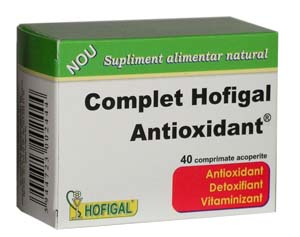 Complet Antioxidant 40cpr Hofigal [0]
