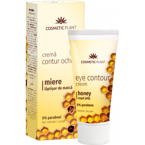 Crema contur ochi cu miere si laptisor de matca 30ml Cosmetic Plant [0]