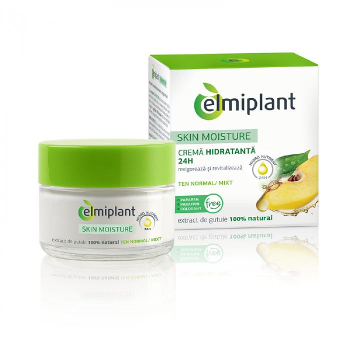 Crema  Hidratanta Zi Ten normal si mixt 50ml Elmiplant [0]
