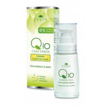 Crema Ochi Q10 Ceai Verde 30ml Cosmetic Plant [0]