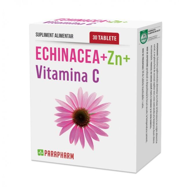 Echinaceea Zinc Vitamina C 30cpr Quantum Pharm [0]