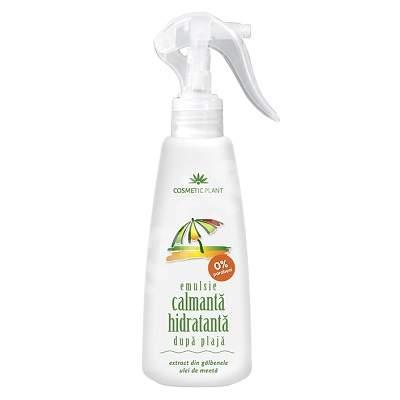 Emulsie calmantă-hidratantă după plajă cu ulei de mentă și extract de gălbenele 200ml Cosmetic Plant [0]