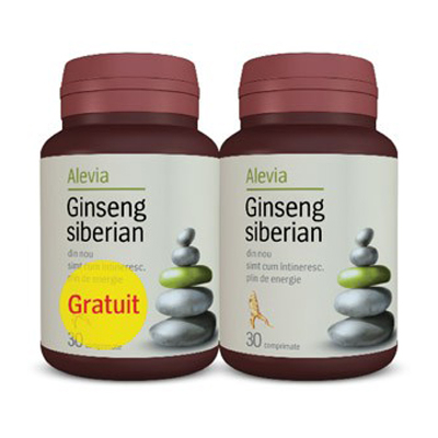 Ginseng Siberian 30+30cpr gratis Alevia [0]
