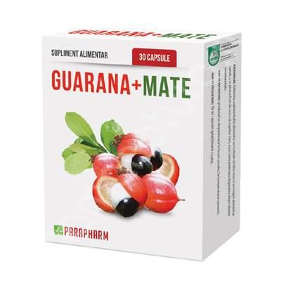 Guarana cu mate 30cps Quantum Pharm [0]