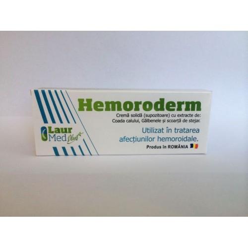 Hemoroderm Supozitoare 1.5g X 10buc Laur Med [0]