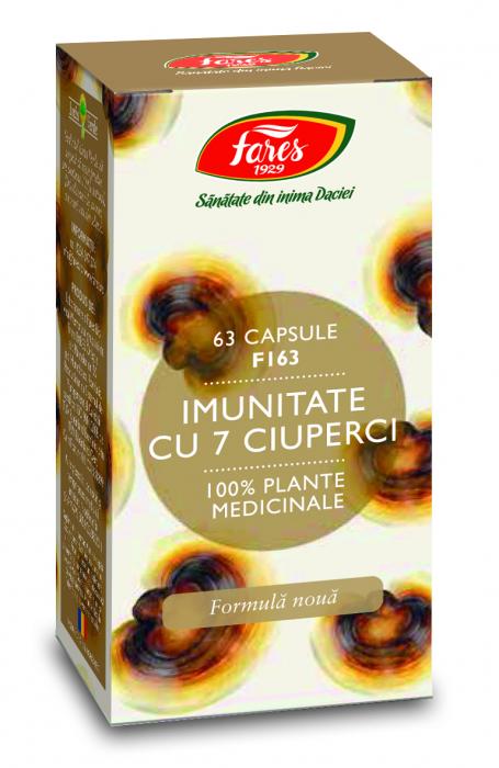 Imunitate 7 Ciuperci 63cps Fares [0]