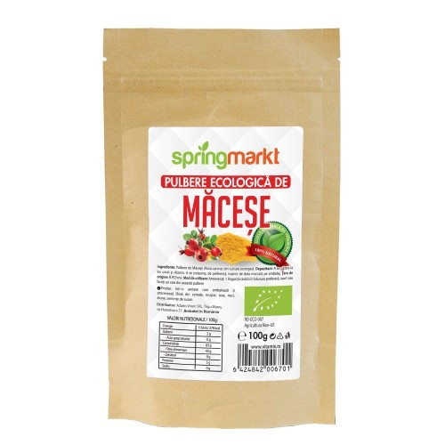 Macese pulbere ecologica 100gr [0]