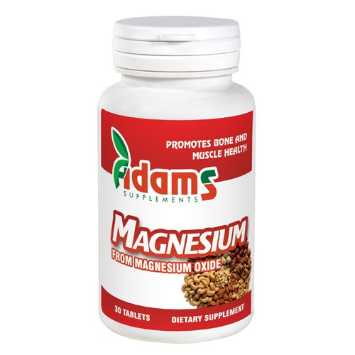 Magneziu 375mg 30 tab. Adams Supplements [0]