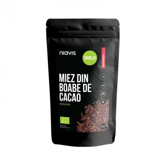 Miez din boabe de Cacao Ecologice/Bio 125g Niavis [0]