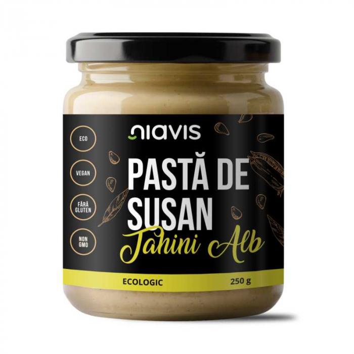 Pasta de Susan Tahini Alb Ecologica/Bio 250g Niavis [0]