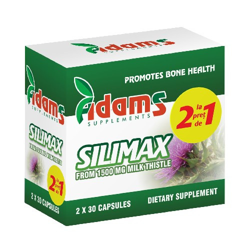 Silimax 1500mg 30cps 1+1 GRATIS [0]