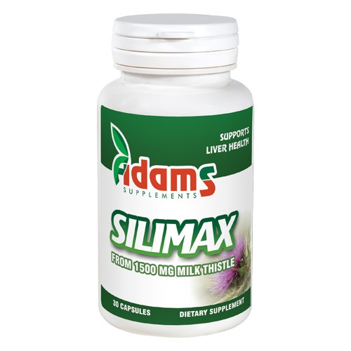 Silimax 1500mg 30cps Adams Supplements [0]