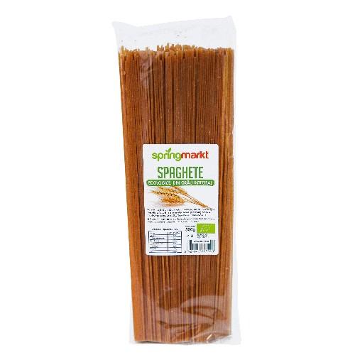 Spaghete Eco din Grau Integral, 500gr, springmarkt [0]