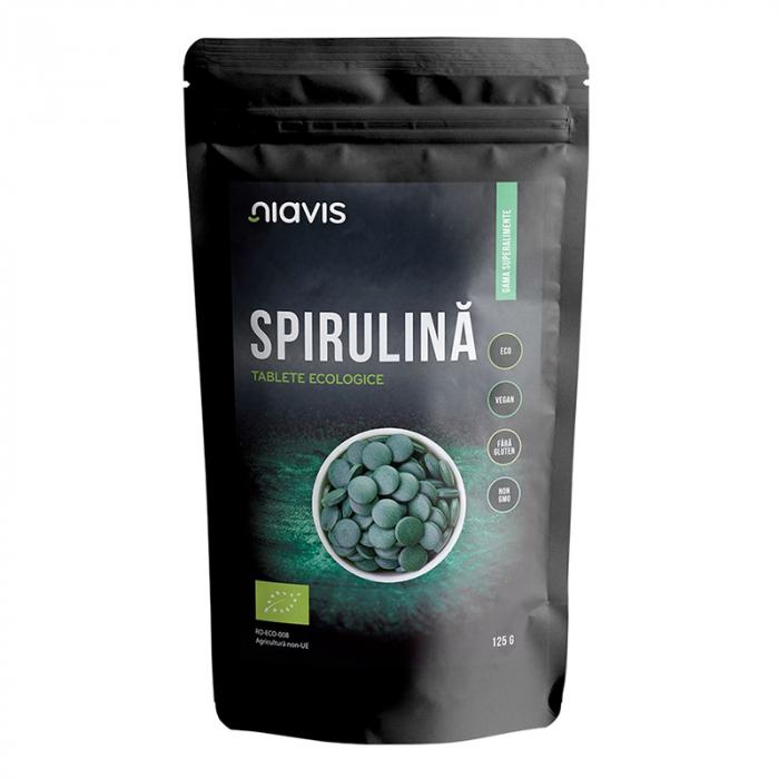 Spirulina tablete Ecologice 125g Niavis [0]