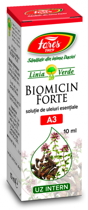 Ulei Biomicin Forte 10 ml Fares [0]