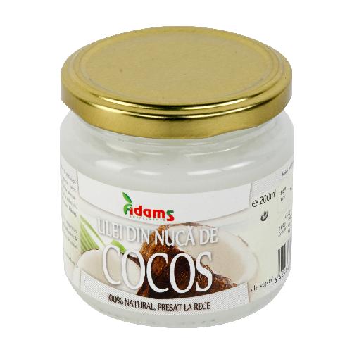 Ulei de Cocos BIO, virgin presat la rece 200ml [0]