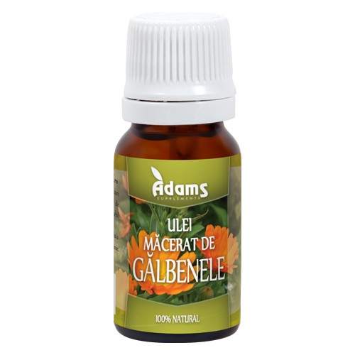 Ulei de Galbenele 10ml Adams Supplements [0]