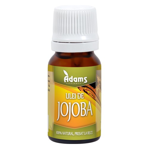 Ulei de Jojoba 10ml Adams [0]