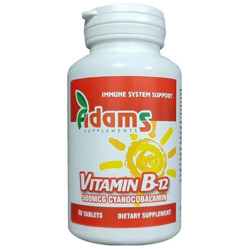 Vitamina B12 500mcg 30tab [0]