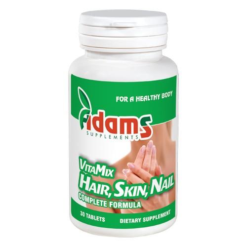 VitaMix Hair, Skin & Nail 30tab Adams Supplements [0]