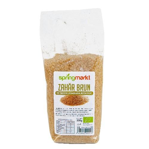 Zahar brun ecologic Demerara din trestie 500gr, springmarkt [0]