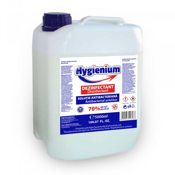 Solutie dezinfectanta 70 % alcool Hygienium 5 l [0]