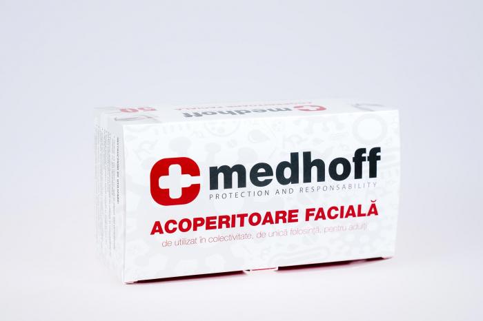 Mască facială 3 pliuri – non medicala - set 2 cutii [0]